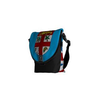 Fiji Flag (Small) Messenger Bag