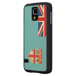 Fiji Flag Carved® Maple Galaxy S5 Case