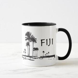 Fiji - Graphic Palm Trees Mug