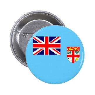 Fiji Islands flag 2 Inch Round Button