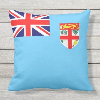 Fiji Islands flag Throw Pillow