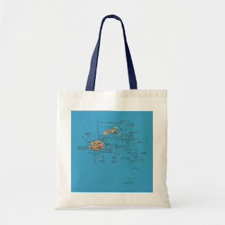 Fiji Map Bag