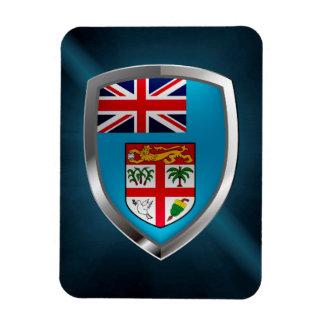 Fiji Mettalic Emblem Magnet