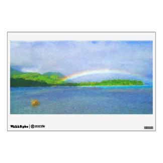 Fiji Rainbow Wall Decal