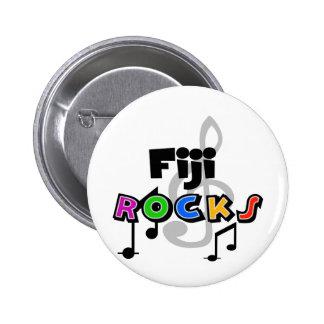 Fiji Rocks 2 Inch Round Button