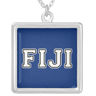 Fiji Silver Plated Necklace
