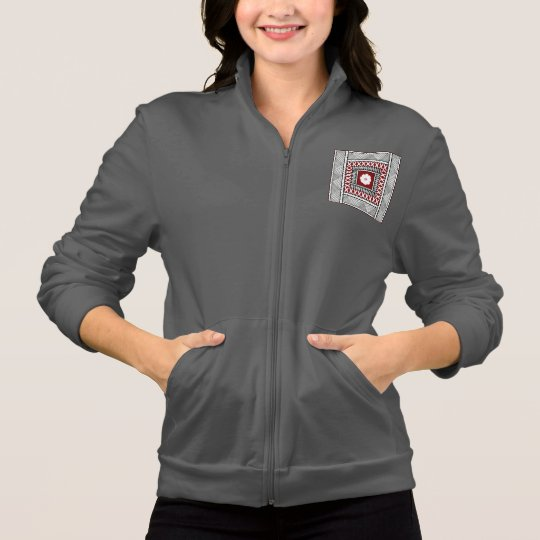 Fiji Square Fleece Jacket
