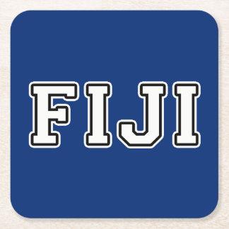 Fiji Square Paper Coaster