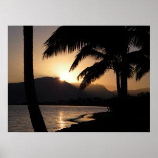 Fiji Sunrise Poster