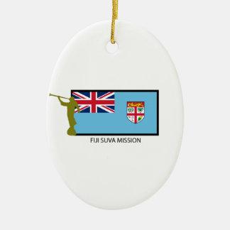 FIJI SUVA MISSION LDS CTR CERAMIC ORNAMENT