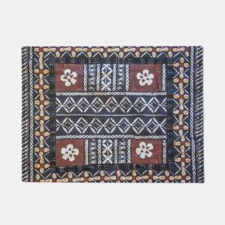 Fiji Tapa Cloth Print Door Mat