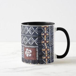 Fiji Tapa Cloth Print Mug