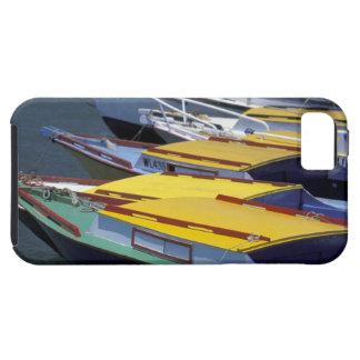 Fiji, Viti Levu, Lautoka, Small boats in Port of iPhone 5 Cases