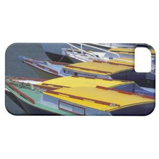 Fiji, Viti Levu, Lautoka, Small boats in Port of iPhone 5 Cover