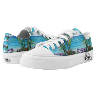 Fiji - Zipz Low Top Shoes, US Men 4 / US Women 6
