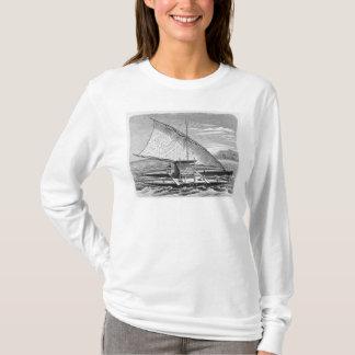 Fijian double canoe from The History of T-Shirt