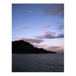 Fijian Sunset Postcard