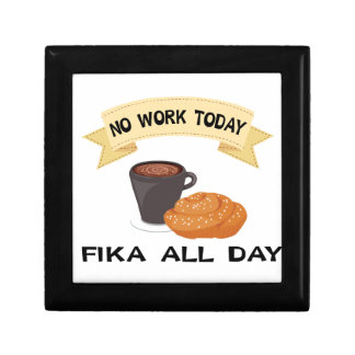 fika all day, no work today jewelry boxes