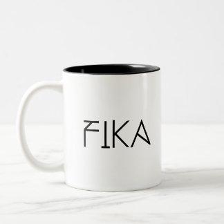 FIKA sulk Two-Tone Coffee Mug