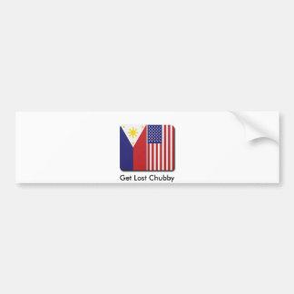 Fil-Am Bumber Sticker Bumper Sticker