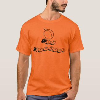 Fil Mishmish T shirt (Arabic In Apricot Season)