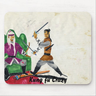 File0420, Kung fu Crazy Mouse Pad
