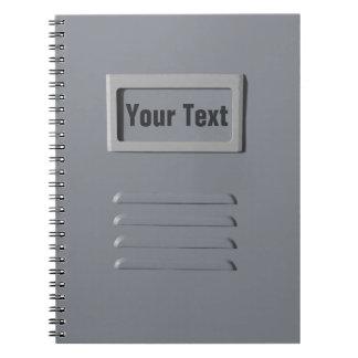 File Cabinet custom notebook