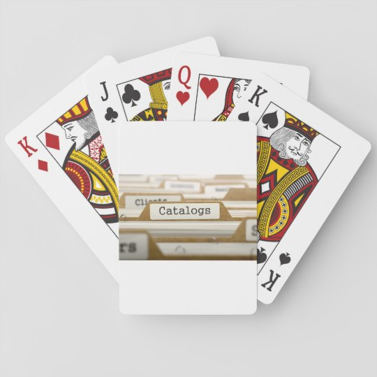 File Folders Playing Cards