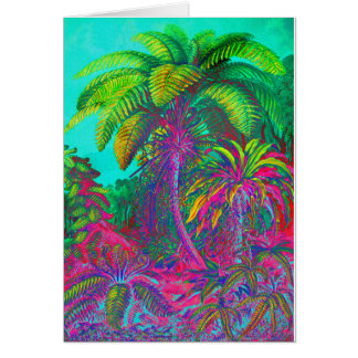 Filicinae Trees and Ferns Card