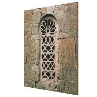 Filigrane de fenêtre, de basilique San Juan Toiles