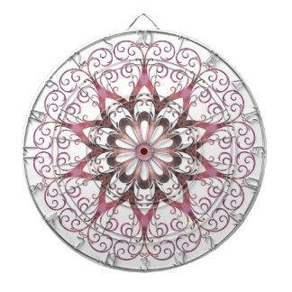 Filigree Ametrine Healing Crystal Mandala Dartboard