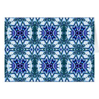Filigree pattern, note card