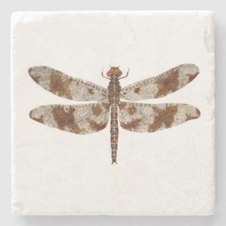 Filigree Skimmer Dragonfly Stone Coaster