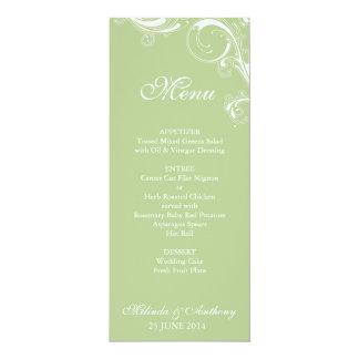 Filigree Swirl Greenery Card
