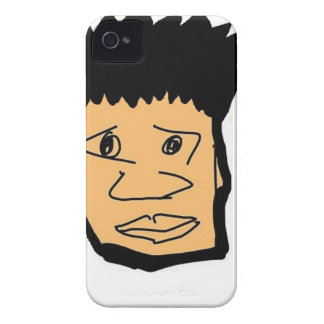 filipino boy  cartoon face collection Case-Mate iPhone 4 case