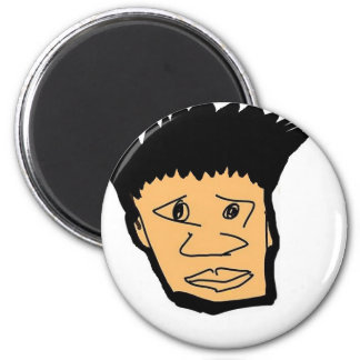 filipino boy  cartoon face collection magnet