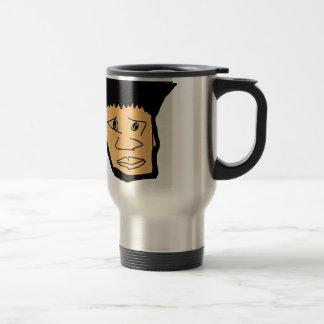 filipino boy  cartoon face collection travel mug
