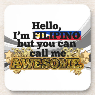 Filipino, but call me Awesome Coaster