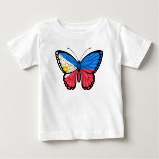 Filipino Butterfly Flag T Shirts
