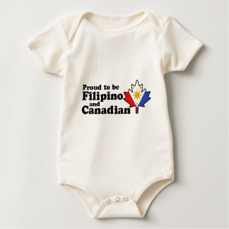 Filipino Canadian Baby Bodysuit