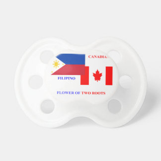 Filipino-Canadian Baby Pacifier