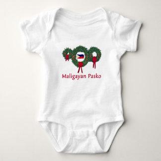 Filipino Christmas 2 Baby Bodysuit