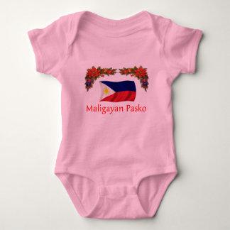 Filipino Christmas Baby Bodysuit