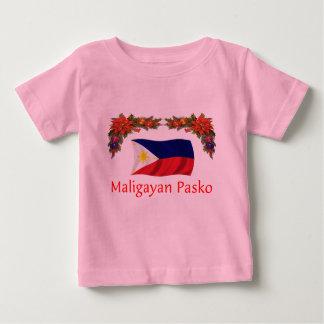 Filipino Christmas Baby T-Shirt