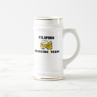 Filipino Drinking Team Stein