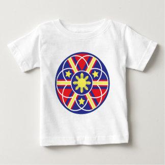 Filipino Flag Mandala Tshirts