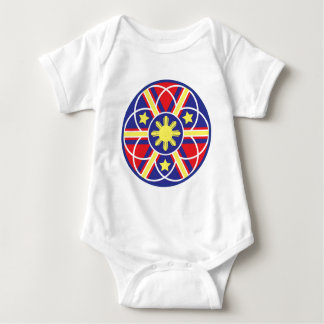 Filipino Flag Mandala Tee Shirts