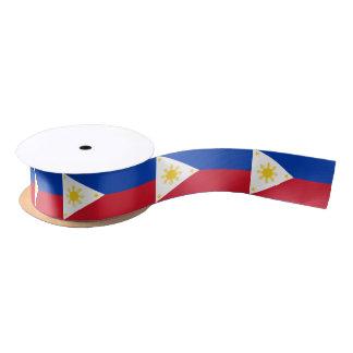 Filipino flag ribbon satin ribbon