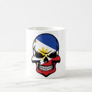 Filipino Flag Skull Coffee Mug