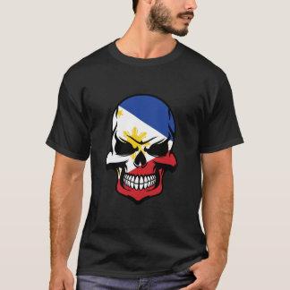 Filipino Flag Skull T-Shirt